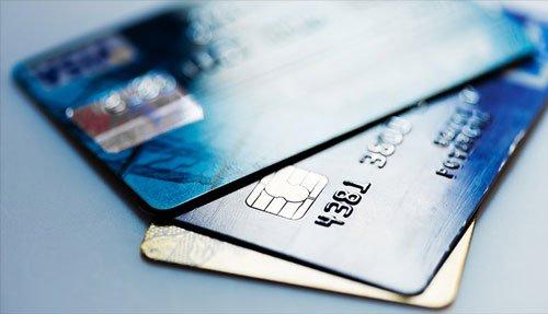 Bilde av kredittkort.