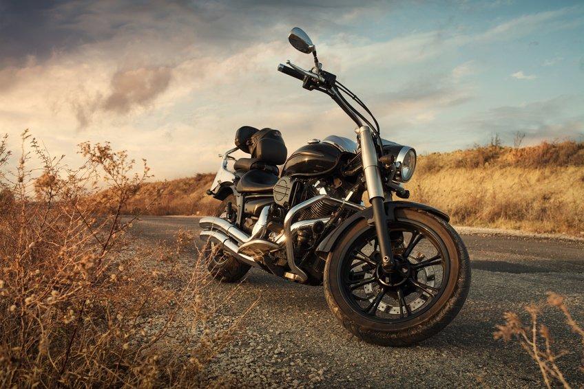 ny motorsykkel