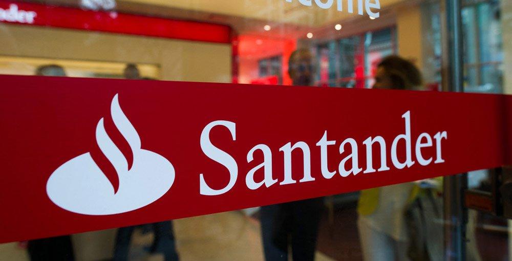 Bilde av Santander Bank sine kontorlokaler.